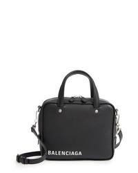Balenciaga Extra Small Triangle Leather Satchel