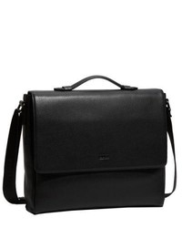 d88f09e1bbae ... Hugo Boss Bangor 2 Messenger Bag Textured Leather