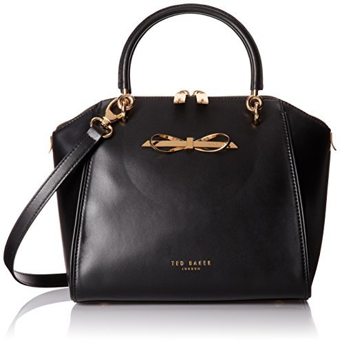 e8c815ba1 Ted Baker Lailey Metal Slim Bow Leather Sml Tote Top Handle Bag ...