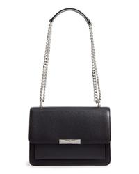 MICHAEL Michael Kors Large Gusset Leather Shoulder Bag