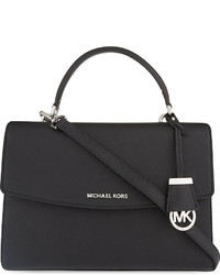 MICHAEL Michael Kors Michl Michl Kors Ava Medium Saffiano Leather Satchel