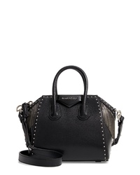 Givenchy Mini Antigona Fringe Stud Leather Satchel
