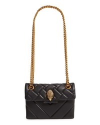 Kurt Geiger London Mini Kensington X Leather Shoulder Bag