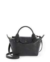 Longchamp Mini Le Pliage Cuir Leather Bag
