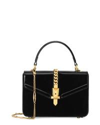 Gucci Mini Sylvie 1969 Patent Leather Bag