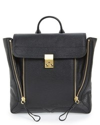 3.1 Phillip Lim Pashli Leather Backpack Black