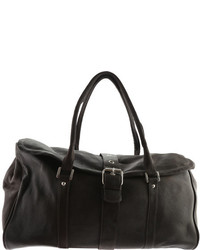 Piel Leather Buckle Flap Over Satchel 3022