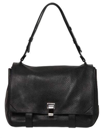 1 775 Proenza Schouler Ps Large Courier Leather Shoulder Bag