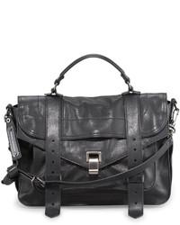Proenza Schouler Ps1 Medium Satchel Bag Black