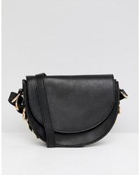 ASOS DESIGN Saddle Bag With Ring Side Detail