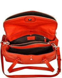 ed1585bb5f Marc by Marc Jacobs Silicone Valley Leather Satchel, $528 | Forzieri ...