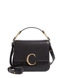 Chloé Small C Convertible Leather Bag