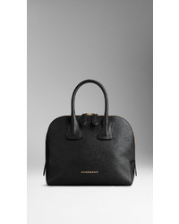 Burberry Small Grainy Leather Bowling Bag