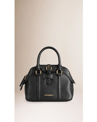 Burberry Small Leather Bowling Bag
