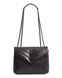 Saint Laurent Small Loulou Matelasse Calfskin Shoulder Bag