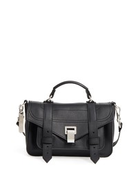 Proenza Schouler Tiny Ps1 Y Leather Satchel