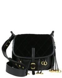 Prada Velvet Leather Corsaire Messenger Bag