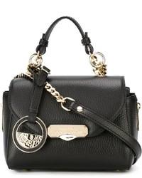 Versace Collection Mini Flap Crossbody Bag