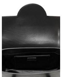 9c0f125eef ... Versace Signature Leather Top Handle Bag