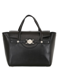 Versace Signature Nappa Leather Top Handle Bag