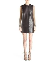 Civalo sleeveless leather sheath dress medium 774219