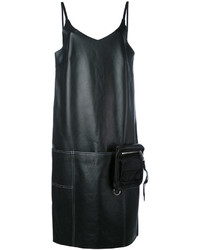 Alyx v neck shift leather dress medium 4312422