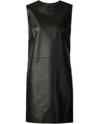 Calvin Klein Collection Leather Shift Dress