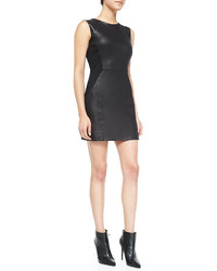 Waverly Grey Leo Sleeveless Faux Leather Dress