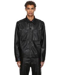 Cornerstone Faux Leather Jacket
