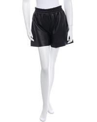 Acne Studios Acne Leather Elastic Shorts