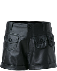 Andrea Bogosian Leather Shorts