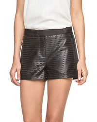 Andrew Marc Victoria Geo Eyelet Shorts
