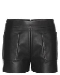 Balenciaga Leather Shorts