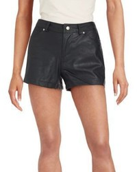 BB Dakota Aime Faux Leather Shorts
