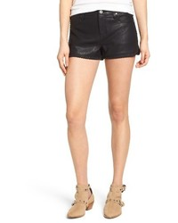 Blank NYC Blanknyc Lace Up Faux Leather Shorts
