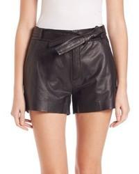 IRO Bridge Leather Shorts