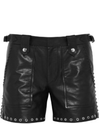 Isabel Marant Brodie Embellished Leather Shorts