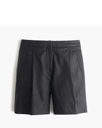 J.Crew Collection Leather Bermuda Short