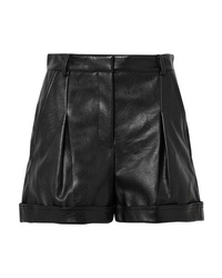 Stella McCartney Danielle Faux Leather Shorts