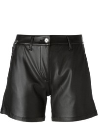 Ermanno Scervino Faux Leather Shorts