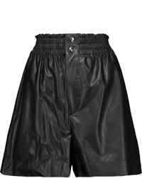 Etoile Isabel Marant Toile Isabel Marant Jervis Faux Leather Shorts