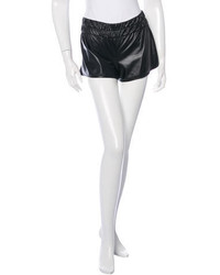 Derek Lam 10 Crosby Faux Leather Mini Shorts