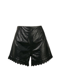 Philosophy di Lorenzo Serafini Flared Vinyl Shorts