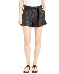 Flavie leather shorts medium 3664152