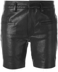 Haider Ackermann Leather Shorts