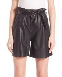 Set High Waist Bermuda Shorts