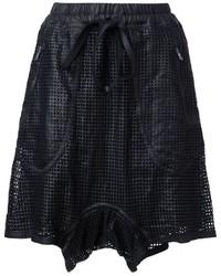 Isaac Sellam Experience Perforated Shorts