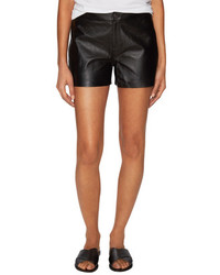 J Brand Mila Leather Short