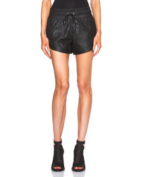 Helmut Lang Kiln Leather Shorts