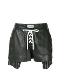 Monse Lace Up Shorts